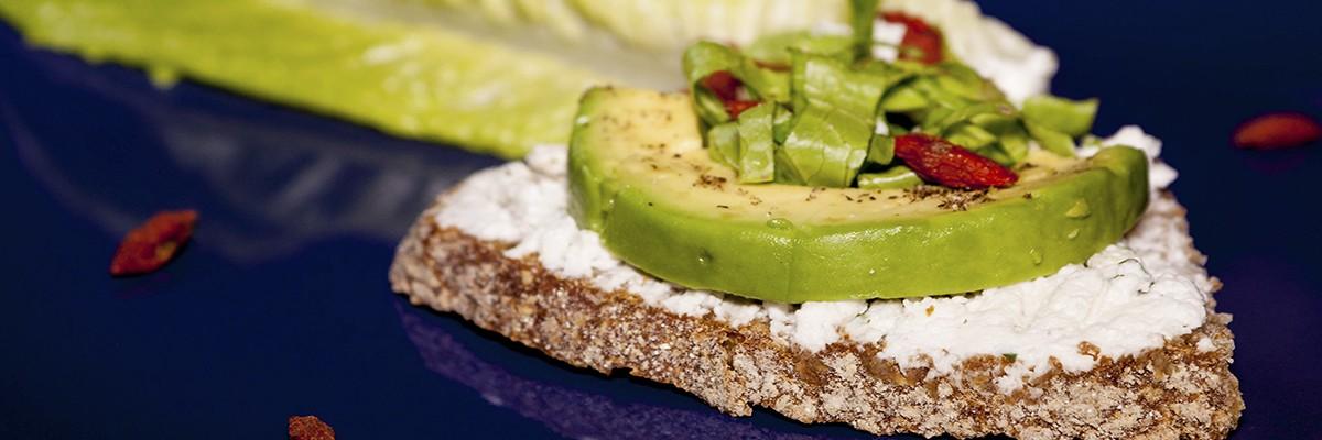 Crostini con avocado, un superfood